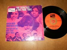 THE SUPREMES & THE FOUR TOPS - RIVER DEEP MOUNTAIN HIGH- 45 FRENCH PS / LISTEN