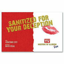 Sanitized For Your Deception (Props and Performance DVD) Magic Tricks
