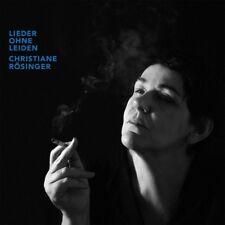 CHRISTIANE RÖSINGER - LIEDER OHNE LEIDEN (VINYL)   VINYL LP NEW+