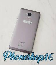 Original Huawei Honor 7 Lite NEM-L21 Akkudeckel Deckel Touch ID Backcover Grau A