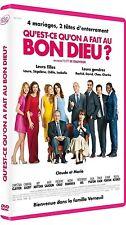 DVD *** QU'EST CE QU'ON A FAIT AU BON DIEU ? *** Christian Clavier Chantal Lauby