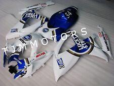 For GSXR600/750 06 07 ABS Injection Mold Bodywork Fairing Kit Blue Lucky Strike
