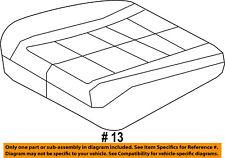 FORD OEM 11-12 Flex Front Seat-Cushion Cover Left BA8Z7462901AF