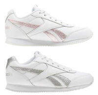 REEBOK ROYAL CLASSIC JOGGER 2 Kids scarpe donna sportive sneakers pelle running