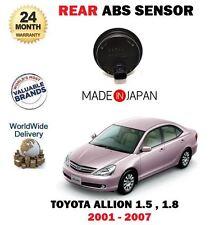 FOR TOYOTA ALLION 1.5 1.8 2001-2007 NEW 1 X REAR ANTI LOCK BRAKE ABS SENSOR