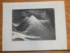 1821 Print, Aquatint Tour of English Lakes///KIRKSTONE PASS