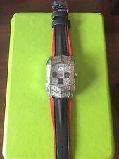 NEW TECHNO MASTER  DIAMOND WATCH TM-2058