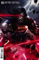 DC Dark Knights DEATH METAL #1 Comic Book Superman Mattina Variant NM