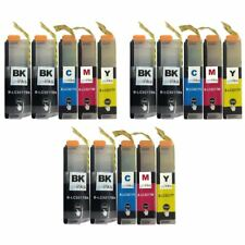 15 Printer Ink Cartridges (Set+Bk) to use with Brother MFC-J5335DW & MFC-J6530DW