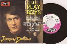 """EP 7"""" JACQUES DUTRONC - Les play boys + 3 - NM/VG+ - VOGUE - EPL 8497 - FRANCE"""