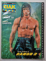 CIAK n° 8 - 1985 SYLVESTER STALLONE Adriano Celentano MICKEY ROURKE