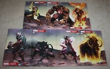 MARVEL LEGACY 1 DEODATO 1 MILLION BC AVENGERS NYC CON VARIANT 7-PACK WOLVERINE
