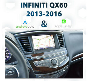 Infiniti QX60 2013 - 2016  Android Auto & Apple CarPlay Integration