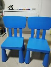 Coppia sedie IKEA Mammut