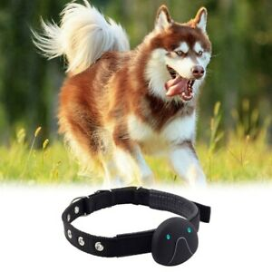 Pet Tracker Cat Dog GPS Tracking Collar with Unlimited Range Waterproof Locater