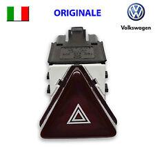 Pulsante di emergenza VW GOLF 5 V JETTA ORIGINALE 4 Frecce Interruttore NERO