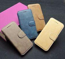 Apple iPhone 6 + 6s Cellulare Case Cover Guscio Protettivo Borsa in pelle Caffè