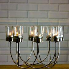 8 Tea Light Candle Holder Table Center Piece Christmas Wedding Decorative Glass