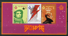 San Marino 2017 MNH David Bowie 70th Anniv 3v M/S Music Celebrities Stamps