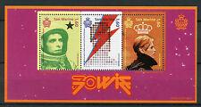 San Marino 2017 MNH David Bowie 70th Anniv 3v M/S Music Celebrities Stamps