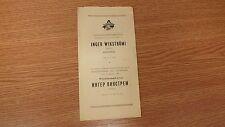 1965. Inger Wikström - Soviet Estonia Soviet Russia Piano Playbill Programme