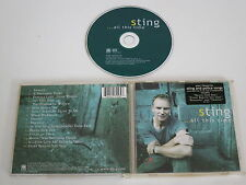 STING/...ALL THIS TIME(A&M 493 156-2) CD ALBUM