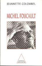COLOMBEL Jeannette - Michel Foucault