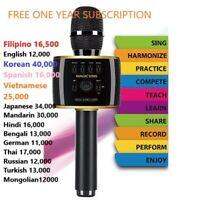 Magic Sing Bluetooth Karaoke Mic Speaker English Tagalog & more 1YEAR 220K songs