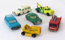 Vintage Lesney Matchbox Lot of 6 Regular Wheel Models 1960s