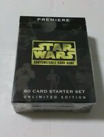 Star Wars Premiere Edition CCG Unlimited Starter Deck New 1995