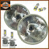 "7"" Pair H4 Led Headlights Headlamps With Sidelight Fits CLASSIC MINI"