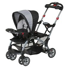 Baby Trend Sit N Stand Ultra Tandem Stroller (Phantom) New and ships FAST!!