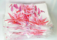 WHOLESALE NEW LOT OF 10 x ESTEE LAUDER PINK FLOWER PRINT TOTE BAG