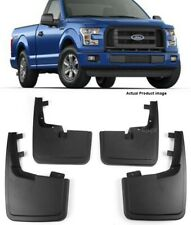 OE Factory Molded Splash Mud Guards Flaps For 15-18 Ford F150 W/O Fender Flare