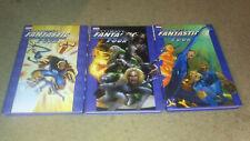 Lot of 4 Books Ultimate Fantastic Four Vol 2, 3,4. Fantastic 4 Vol 1 HC Marvel