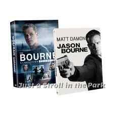 Jason Bourne: Complete Matt Damon Movies Series 1 2 3 4 5 Box / DVD Set(s) NEW!