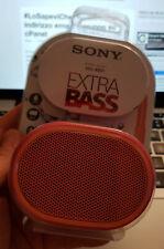 Sony SRS-XB01 Rossa Speaker Portatile Bluetooth Impermeabile nuova cassa