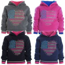 Unbranded Polyester Hoodies (2-16 Years) for Girls