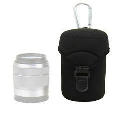 JJC JN-L Lens Case Bag Pouch For Samsung 18-55mm Canon EFM 18-55mm 16-50mm