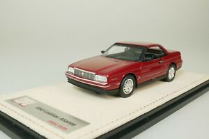 Cadillac Allante Convertible 1993 Red #125 From Only 199 1/43 Stamp STM93805