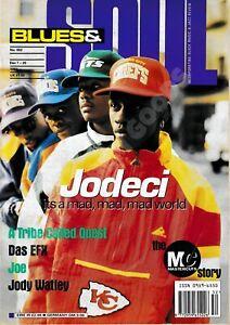 BLUES & SOUL MAGAZINE - JODECI, JODY WATLEY, JOE, DAS FX - DEC 93