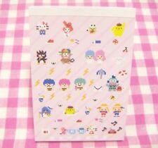 Sanrio Characters x Tokyo Pixel Mini Memo Pad / Japan  Kiki Lala My Melody Kitty
