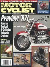 V-Max Yamaha VMX12 Kawasaki ZX-7R XR650L Honda Valkyrie Harley Davidson VR1000
