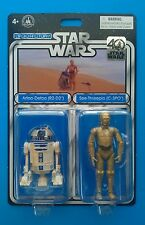 Star Wars 40th Anniversary 2017 Disney Droid Factory R2-D2 & C-3PO 2-Pack