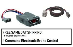 5504 Draw Tite Brake control with Wiring Harness 3026 FOR 2007-2018 GM