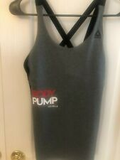 Reduced-Out of stock- -Les Mills Body Pump Tank- Strappy Size Small