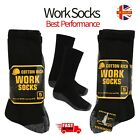 5-20 Pairs Mens Cushion Sole Reinforced Work Socks Warm Boot Thick Heel Toe 6-12