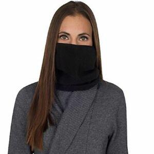 POLYPROPYLENE NECK GAITER Warmer Face Mask 93% Poly 7% Spandex Stretch Grid