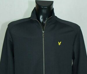 Lyle & Scott  ACTIVEWEAR TOP TRACK JACKET LONG SLEEVE SIZE M EXCL //