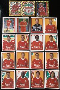 Merlin Premier League 2000 - 19 x Liverpool Stickers - Lot / Bundle